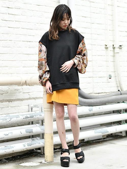 [BARAK] カットスカート