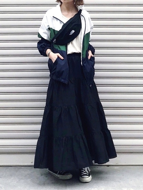 [titivate] コットンティアードスカート