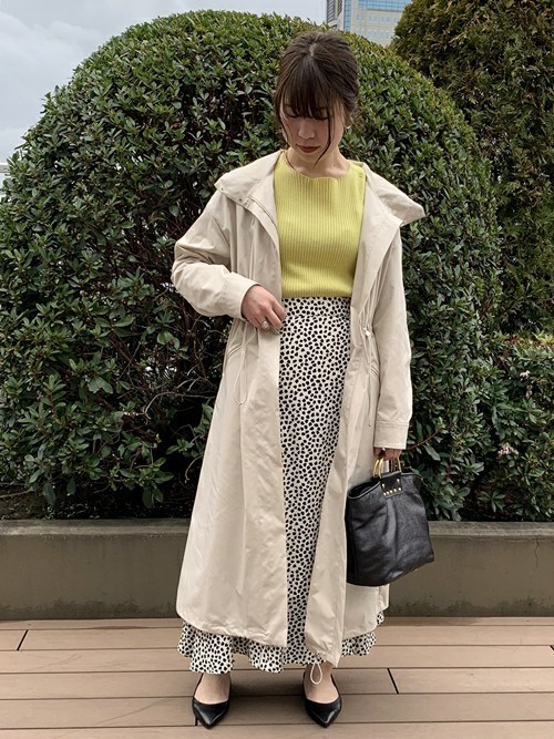 [SHIPS for women] レオパードフレアスカート◇
