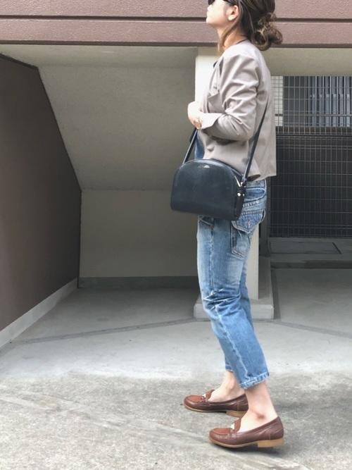 《初秋》気温27度の服装:パンツスタイル 晴れ2