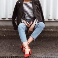 赤パンプスコーデ50選♡ファッションの差し色に取り入れて女性らしさUP♪