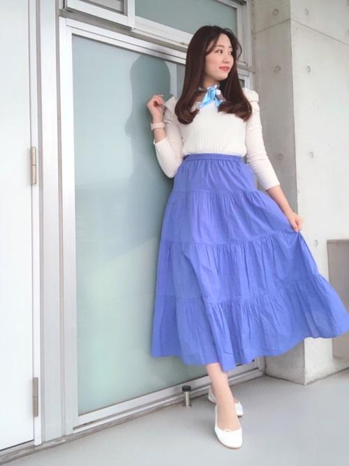 GU フレアスカート