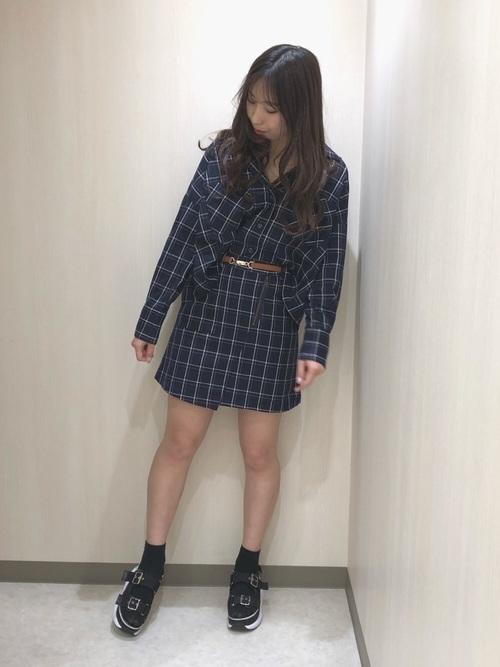 [Heather] ZIPツキラップスカート 830758