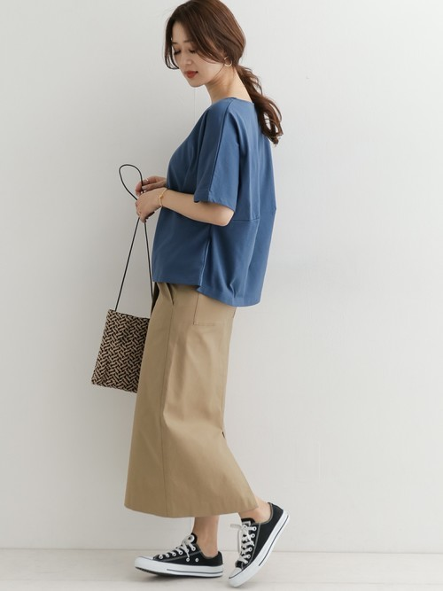 [URBAN RESEARCH DOORS] Lilas Campbell×DOORS ウーブンサコッシュ