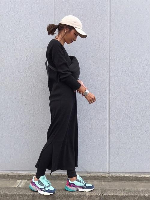 レディース ストリート 系 ファッション