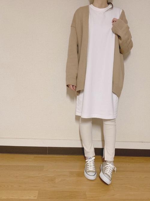 《初秋》気温27度の服装:ワンピーススタイル 曇り