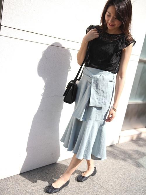 [RANDA] マーメイドスカート