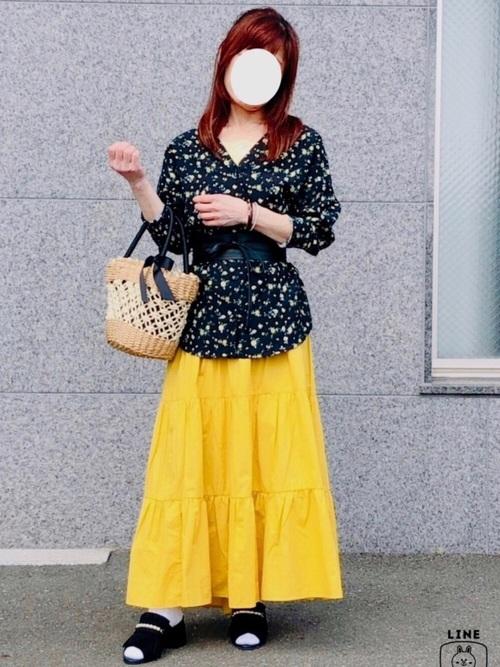 GU ティアードスカート
