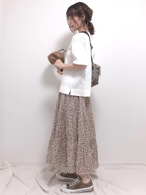 【GUアイテム】ロングスカート