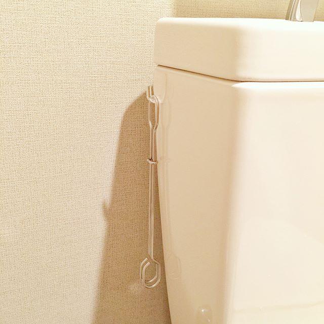 トイレ掃除用具のスッキリ収納8