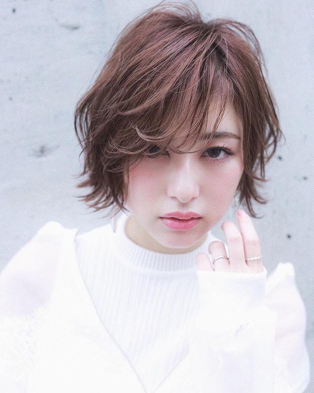 エアリー感×ショートボブ アレンジ2