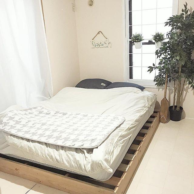 寝室実例 カリフォルニアスタイル