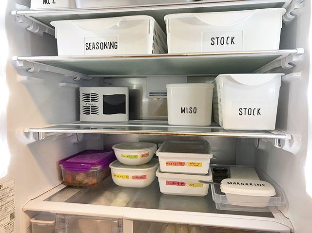 時短家事 冷蔵庫