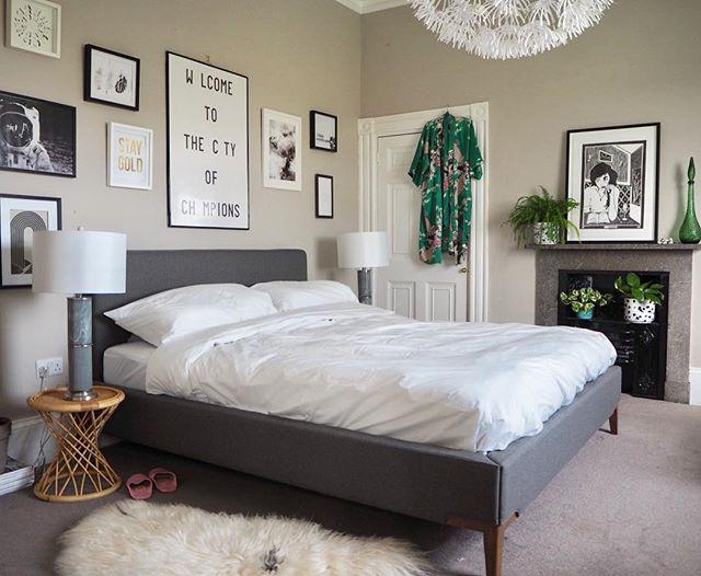 寝室実例 アート ファーラグ