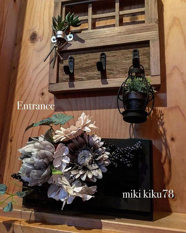 造花インテリア ウェルカムボード2