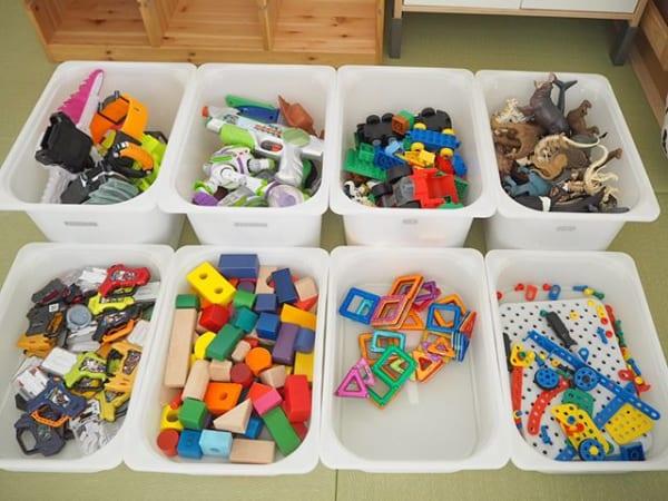 トロファストはおもちゃ収納の鉄板3