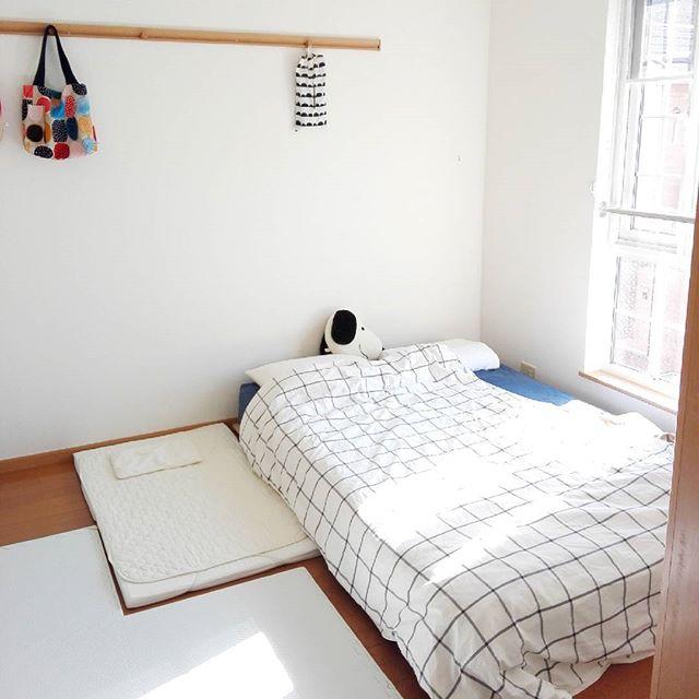 ニトリ 寝室 シンプルインテリア