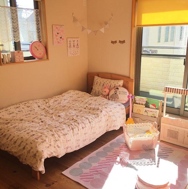 ニトリ 寝室 ガーリーインテリア