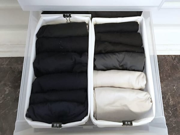 衣類の収納2
