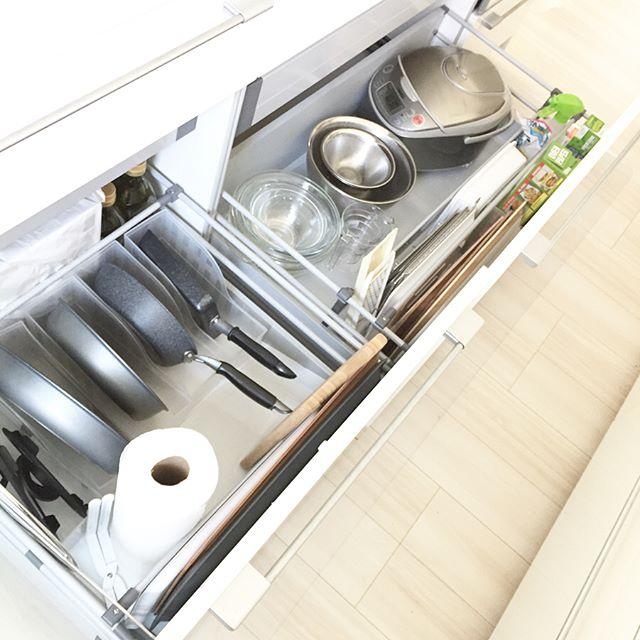 炊飯器収納2