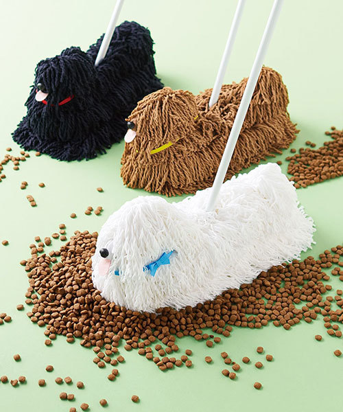 [FELISSIMO] YOU+MORE! 掃除が散歩気分 モップ犬みたいなモップ