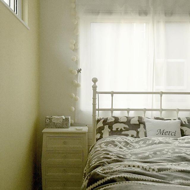 ニトリ 寝室 北欧インテリア
