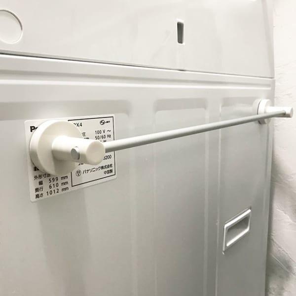 洗濯機横の収納