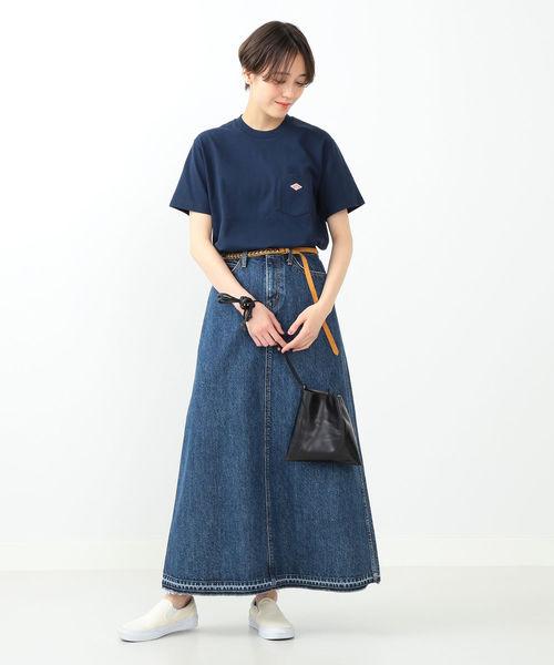 [BEAMS WOMEN] 【WEB限定】DANTON / ポケット Tシャツ