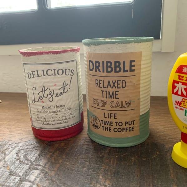 セリアでお洒落なリメ缶DIY8