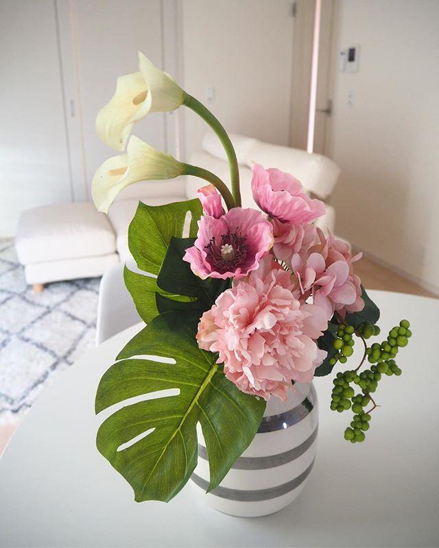 造花 テーブル