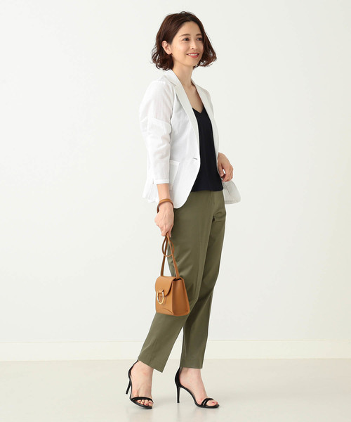 [BEAMS WOMEN] Demi-Luxe BEAMS/ CANCLINI シャツジャケット