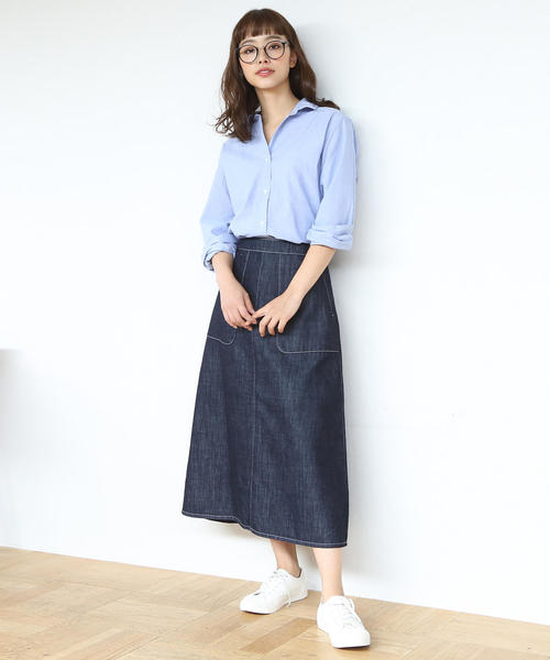 [coen] 【LEE4月号掲載・定番アイテムがリニューアル】2WAYカシュクールシャツ