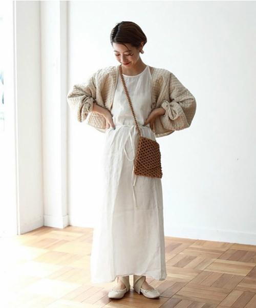 """[CANAL JEAN] TODAYFUL(トゥデイフル) """"Linen Apron Dress""""リネンエプロンドレス"""