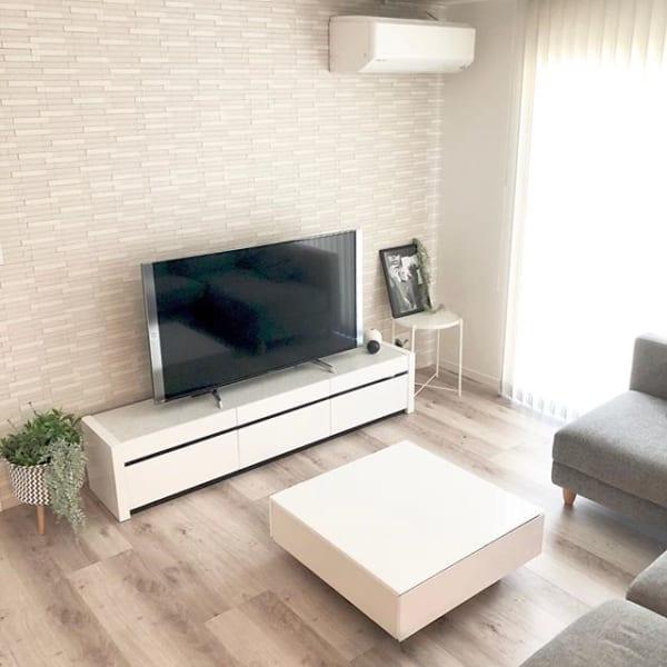 スタンダードなテレビボードは、インテリアになじむものをチョイス☆3