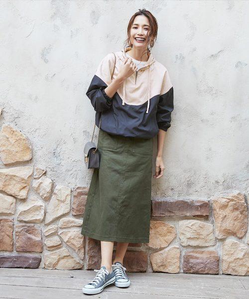 アウトドアコーデ【スカート・ワンピーススタイル】