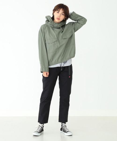 [BEAMS WOMEN] GRAMICCI / 別注 ウェザー テーパード パンツ