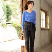 大人の春コーデ特集♪重たく見えがちな黒パンツを春らしく着こなすコツをご紹介