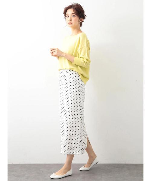 [koe] ドットタイトスカート