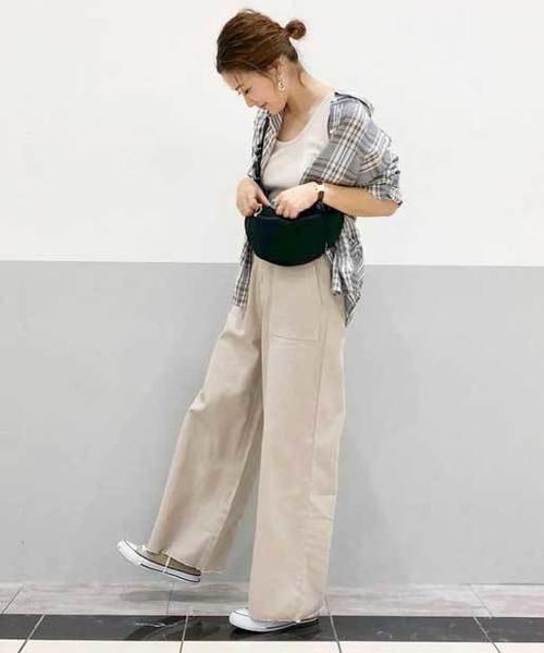 [CIAOPANIC TYPY] フランダースリネンバックリボンシャツ