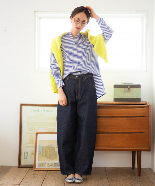 [GLOBAL WORK] レギュラーBIGシャツ長袖