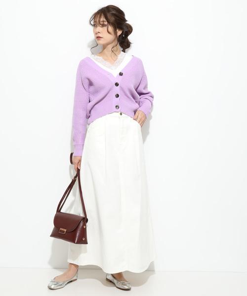 [ViS] 【泉里香さん着用】【Lee×ViS】デニムマキシスカート