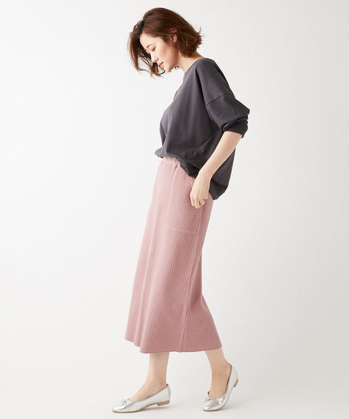 [Discoat] 【WEB限定】 ワッフルベーカーナロースカート