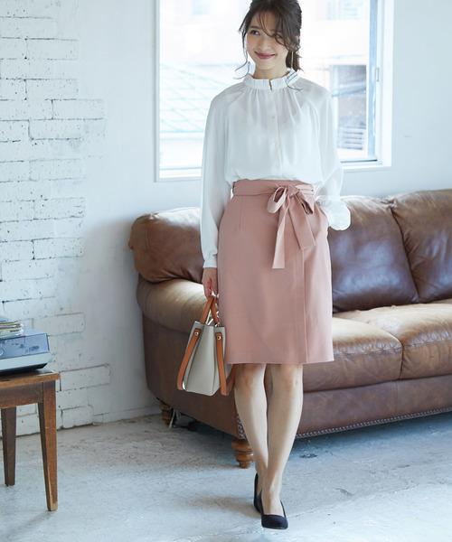 [ViS] ベルトラップタイトスカート