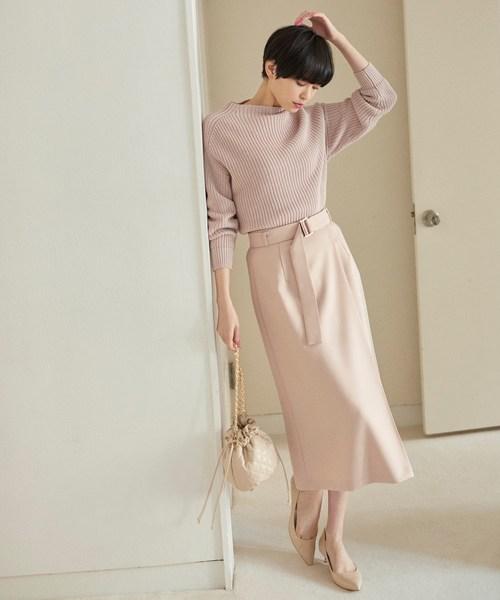 [aquagirl] ツイルラップ風スカート