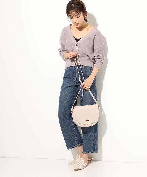 [ViS] ワッフル編みカーディガン