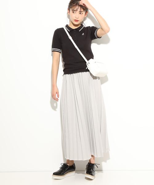 [ViS] 【KANGOL×ViS】ワイドリブポロシャツ2