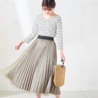 春はやっぱりスカートが穿きたい!大人可愛い華やかなミディ丈スカート特集♡