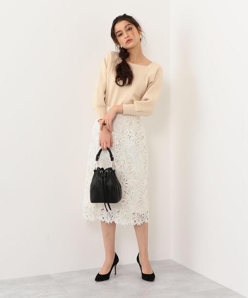[EMMEL REFINES] 【EMMEL REFINES】◆FC ケミカルレース Iラインスカート