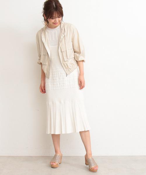 [PROPORTION BODY DRESSING] エアリーパール付きマウンテンパーカー