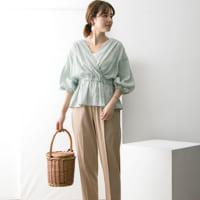 半袖以上、長袖未満の季節に!さわやかに着こなすリネンシャツ&ブラウススタイル♪